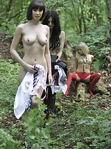 Lesbain, Carole Hunt and Jen Bailey and Samantha Bentley 2