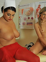 StMackenzies on December10 Faye Taylor and Matron Jenny